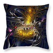 Solar Winds Throw Pillow