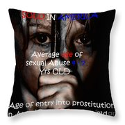 Sold In America Throw Pillow