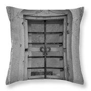 Soldatenbau Window B W Throw Pillow
