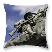 Soldier In The Boer War Throw Pillow