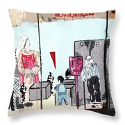 Soldier Mood Throw Pillow