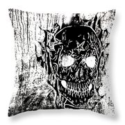 Soldier Ov Hell Throw Pillow