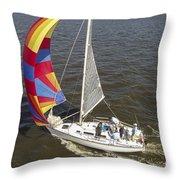 Sole Vento Charleston South Carolina Throw Pillow