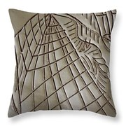 Solemnity - Tile Throw Pillow