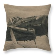 Solid Brass Throw Pillow