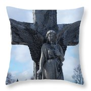 Solid Cold Throw Pillow