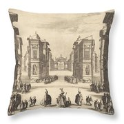 Solimano, Act I Throw Pillow