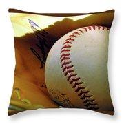 Solitary Ball 2 Throw Pillow