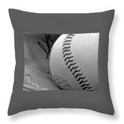 Solitary Ball Throw Pillow