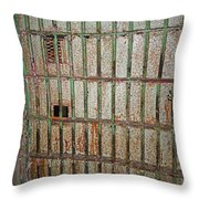 Solitary Confinement Throw Pillow