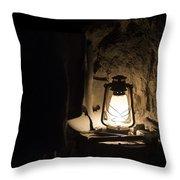 Solitary Light Throw Pillow