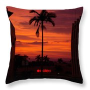 Solitary Passage Throw Pillow