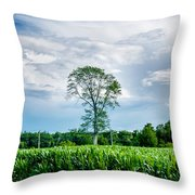 Solitree Throw Pillow