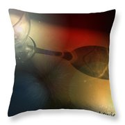 Solitude A Deux Throw Pillow