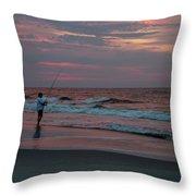 Solitude At Sunrise Throw Pillow