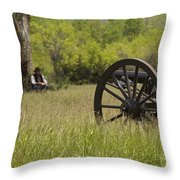 Solitude Before War Throw Pillow