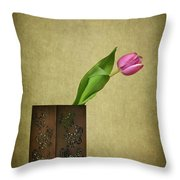 Solitude In Bloom Throw Pillow