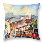 Soller In Majorca 01 Throw Pillow