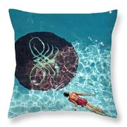 Solo Float Throw Pillow