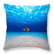 Solo Under The Sea Throw Pillow