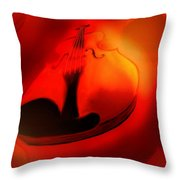Soloviolin Throw Pillow