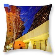 Solow Building Throw Pillow