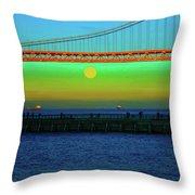Solstice Bay Throw Pillow