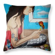 Solving The Puzzle Throw Pillow