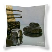 Some And All Throw Pillow