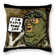 Some Art Throw Pillow