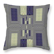 Some Color 43 Throw Pillow