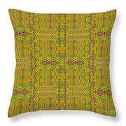 Some Color 44 Throw Pillow