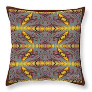 Some Color 85 Throw Pillow