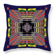 Some Color 86 Throw Pillow