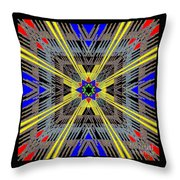 Some Color 87 Throw Pillow
