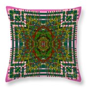 Some Color 89 Throw Pillow
