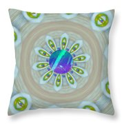 Some Colors On Your Wall Throw Pillow