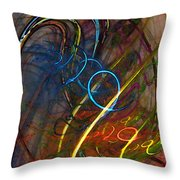 Some Critical Remarks Abstract Art Throw Pillow