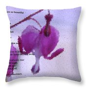 Some Flowers  Throw Pillow