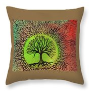 Some Images Don't Fade Throw Pillow by Wayne Potrafka