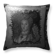 Some Old Queen Throw Pillow