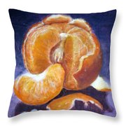 Some Orange Throw Pillow