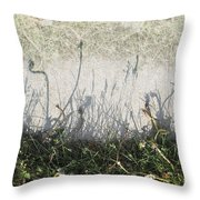 Some Peoples Weeds Throw Pillow