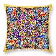 Some Symmetry 82 Throw Pillow