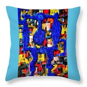 Somebody Standing On The Promises Of God Throw Pillow