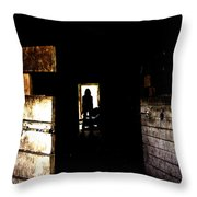 Someone Behind You Throw Pillow