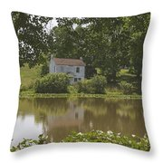 Someone's Home Throw Pillow