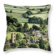 Somerset Church Throw Pillow