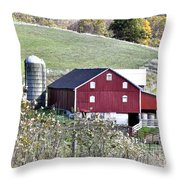 Somerset County Farm Throw Pillow