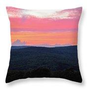 Somerset Sunset Horizontal Throw Pillow